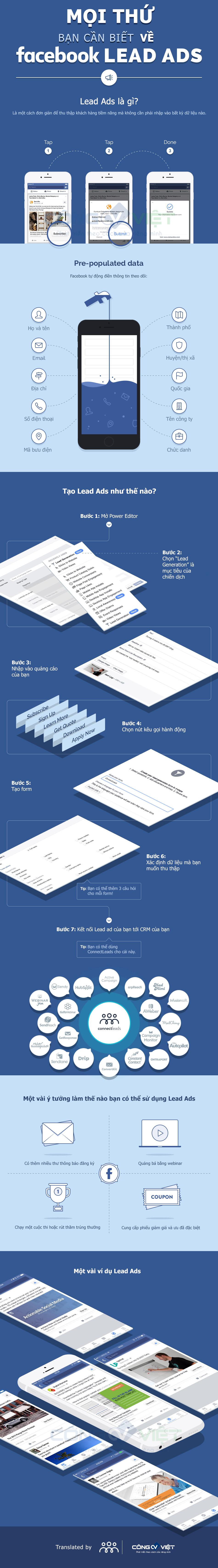 Mọi thứ bạn cần biết về facebook lead ads