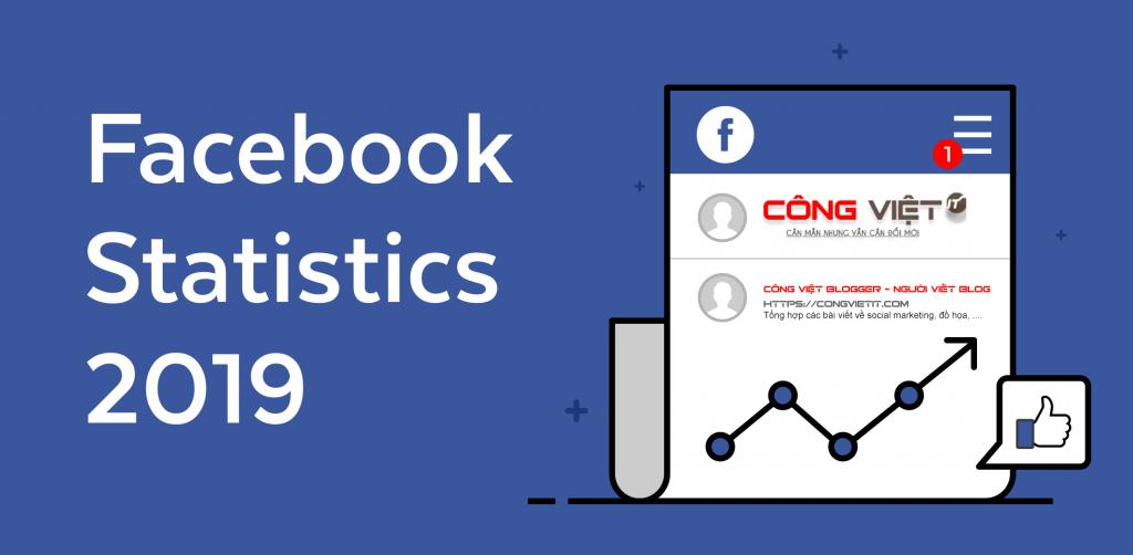 53 Thống kê về Facebook bạn cần biết trong năm 2019