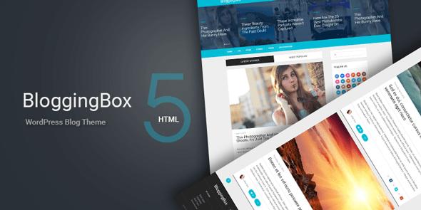 BloggingBox là một chủ đề WordPress