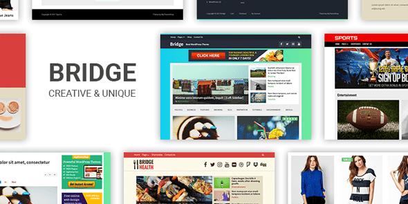 Bridge là một chủ đề WordPress được thiết kế trang nhã