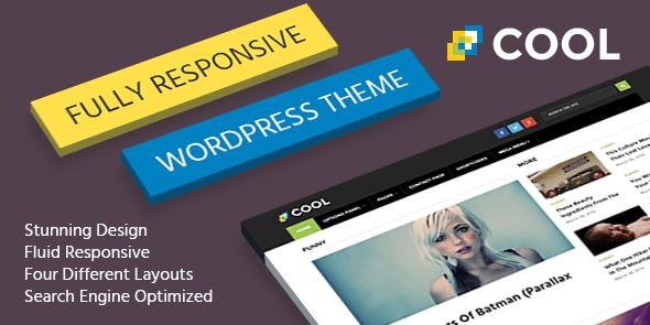 Cool là một chủ đề WordPress hiện đại