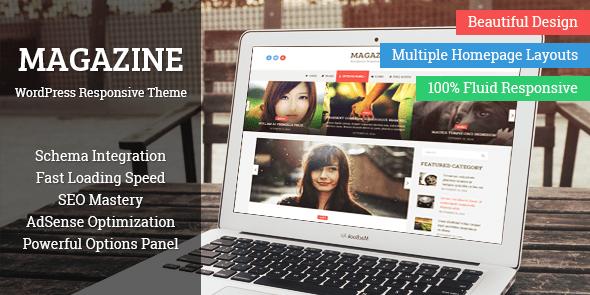 Magazine là một chủ đề WordPress được thiết kế cho các trang web