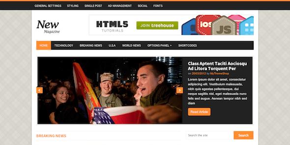 NewsMag là một chủ đề tạp chí WordPress