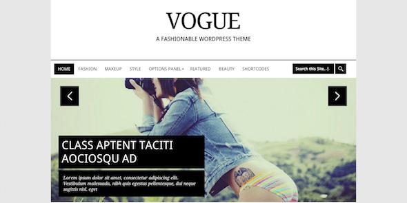 Vogue là một chủ đề WordPress thời trang và thanh lịch