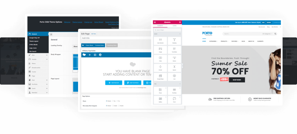 Download theme Porto WordPress - Multipurpose & WooCommerce Theme update Version mới nhất